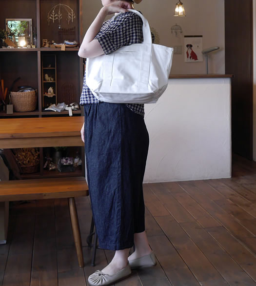 Armen, アーメン, PNAM1471, 2way iNSIDE DOUBLE POCKE SMALL TOTE BAG, スモールトートバッグ