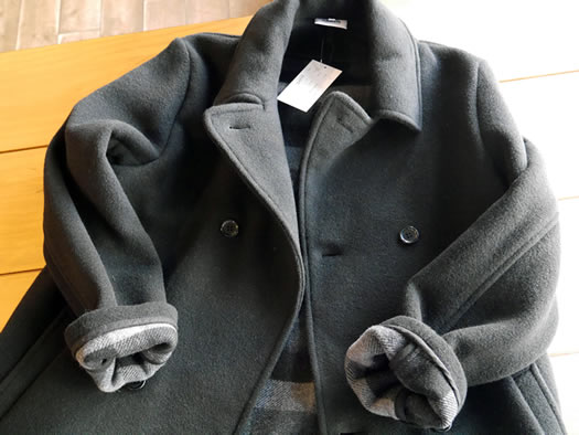 PNAM1751W, ARMEN, アーメン, Double Face Mid-Length Pea Coat
