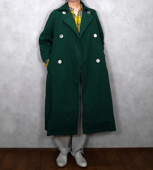 Veritecoeur, ヴェリテクール, VC-2023,Typewriter Double Button Coat
