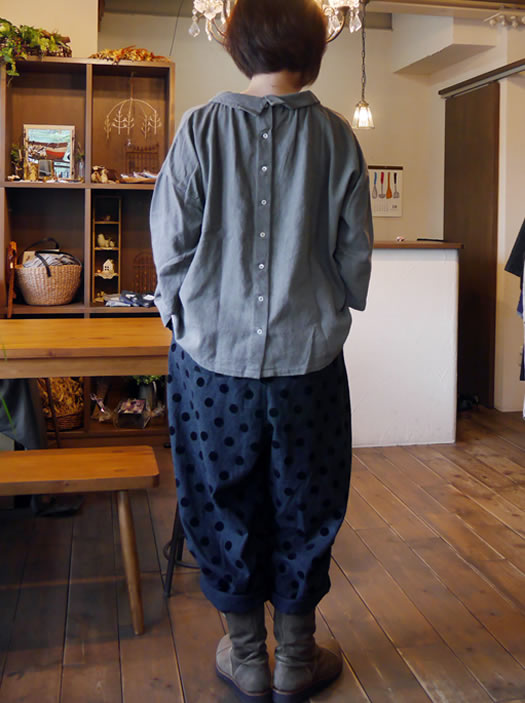 nk-62377, nachukara, ナチュカラ, Cotton Linen Wool 2Way Shirt