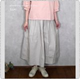 <img class='new_mark_img1' src='https://img.shop-pro.jp/img/new/icons20.gif' style='border:none;display:inline;margin:0px;padding:0px;width:auto;' />30%off NATURAL LAUNDRY ナチュラルランドリー/ 7203S-001 タイプライターボリュームスカート
