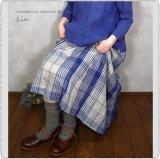 *Loiter/ L039 Mix Linen Rib Socks