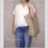 *ichi Antiquite's イチアンティークス/ 601237 Linen Big Bag
