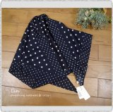 *soil ソイル/ NSL21028 Cotton Voile Dot Print Triangle Scarf