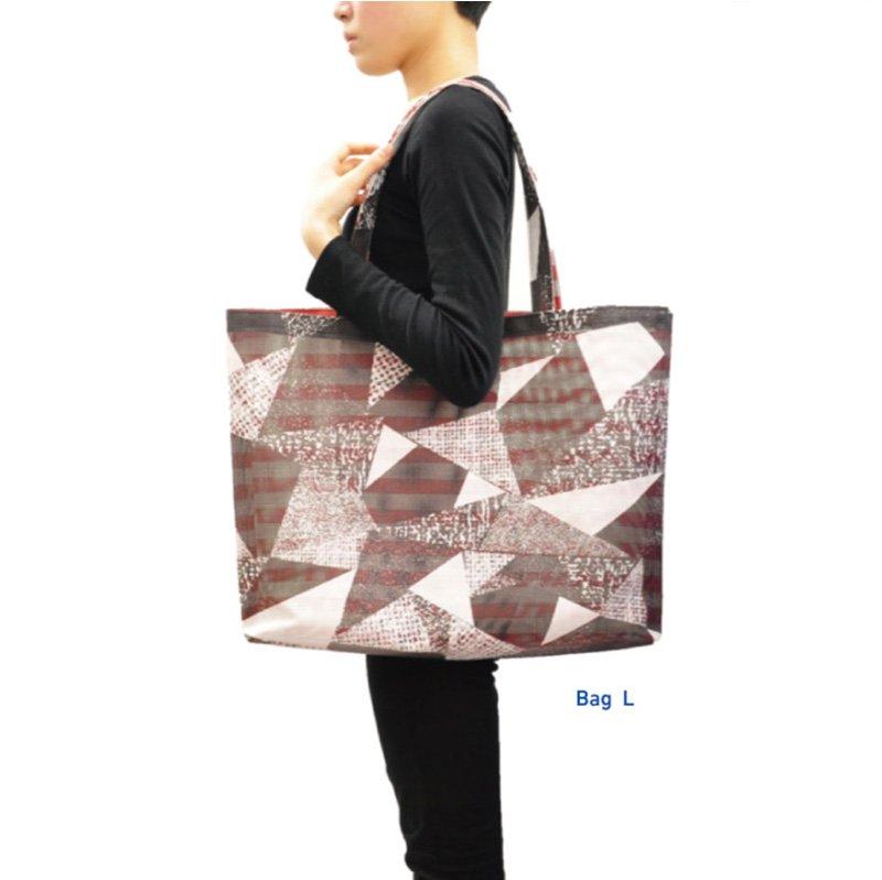 [ PANAMA パナマ ] トートバッグ Lサイズ Tote Bag Large size [ monopuri モノプリ- mute + 大野彩芽 design]