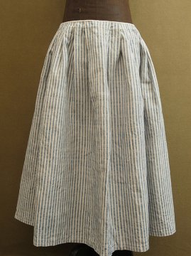 late 19th - early 20th c. linen × hemp skirt