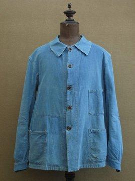 cir.1930's-1940's indigo work jacket