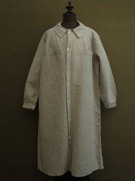 cir.1930's linen work coat / smock
