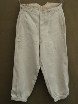 early 20th c. linen twill trousers