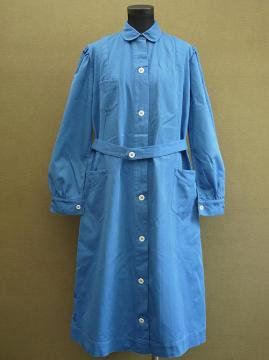 cir.1940's blue work coat dead stock