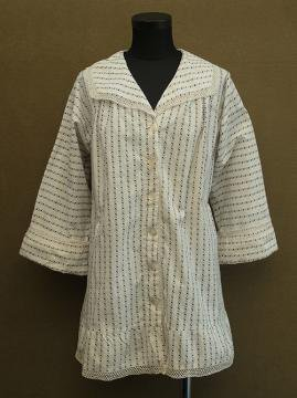 early 20th c. printed blouse