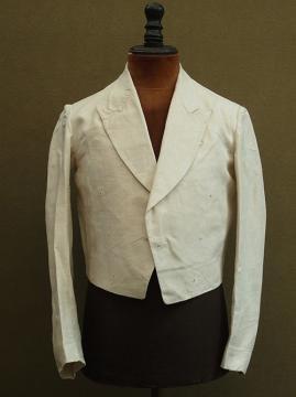 cir.1920-1930's linen short jacket dead stock