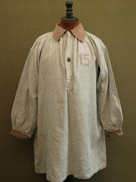 cir. early 20th c. hunting beater's linen smock