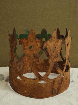 rusty crown