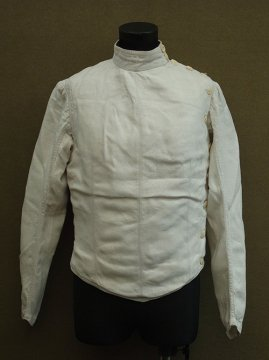early 20th c. linen fencing jacket