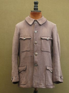 1930-1940's brown pique hunting jacket