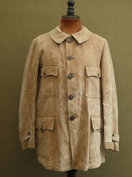 cir.1930's linen hunting jacket