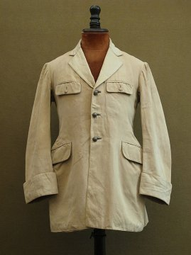cir.1930's beige riding jacket