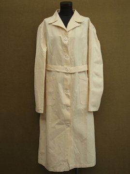 mid 20th c. linen coat military