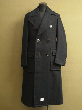 1940's double breasted chester coat dead stock