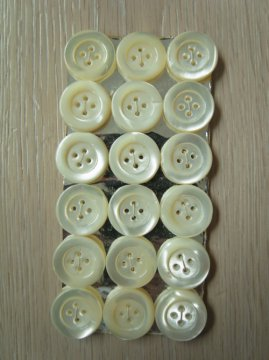 vintage shell button sheet