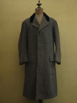 1920-1930's wool herringbone coat