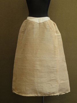 late 19th - early 20th c. horsehair skirt