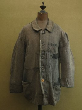 1930 - 1940's patched wool work jacket