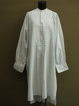 early 20th c. dots cotton shirt