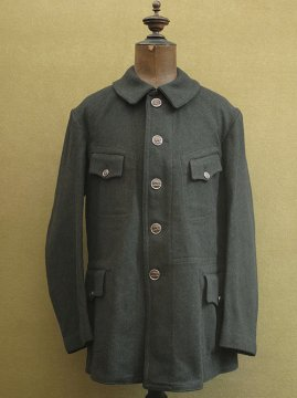 cir. 1930 - 1940's wool hunting gamekeeper jacket