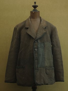 cir. 1930's patched wool jacket