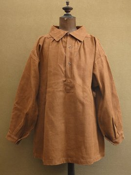 cir.1930-1940's brown hemp pullover