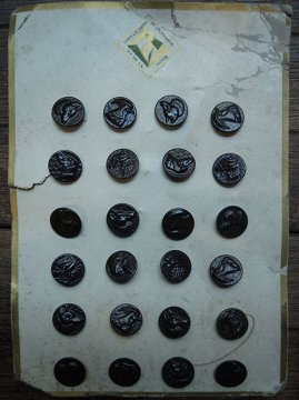 16mm hunting metal button sheet #1
