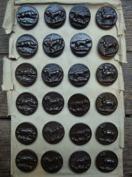 16mm hunting metal button sheet #2