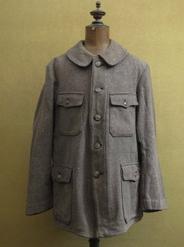 cir.1940's wool hunting jacket