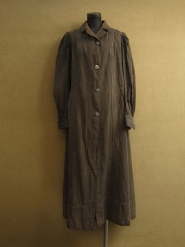 cir. 1880-1900's brown wool coat