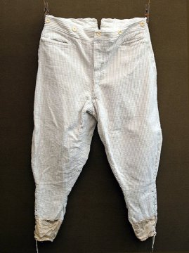 cir. early 20th c. white cord jodhpurs