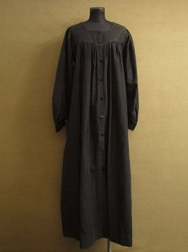 cir.1910's-1930's black work coat / smock
