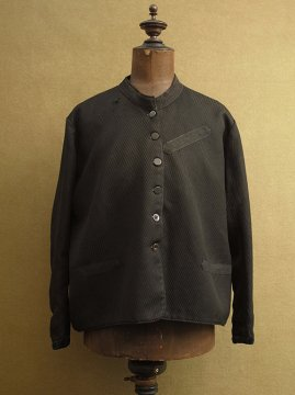 cir. early 20th c. black wool jacket