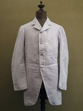 1910's striped cotton jacket