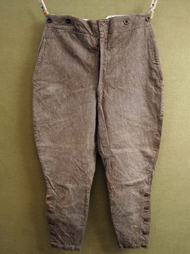 cir.1930's brown herringbone jodhpurs