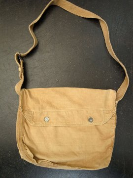 cir.1910-1930's beige cotton musette