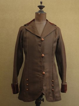cir.1920's brown wool jacket