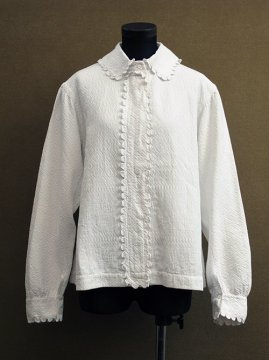 early 20th c. white cotton blouse