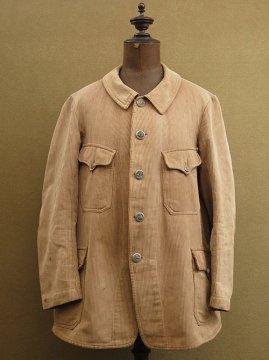 cir.1930's striped pique hunting jacket
