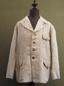 1920-1930's linen hunting jacket