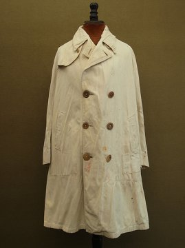 cir.1930's cream beige coat