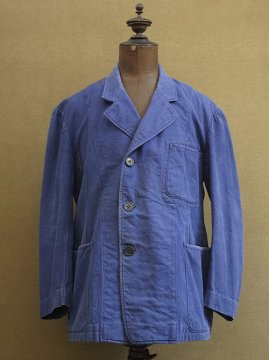 cir.1940's blue work jacket
