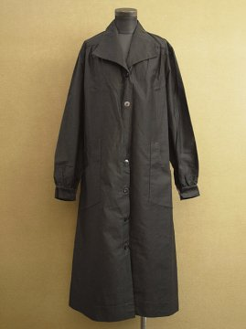 cir.1930's black work coat