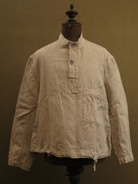 cir.1940's herringbonen linen sailor work top WWII